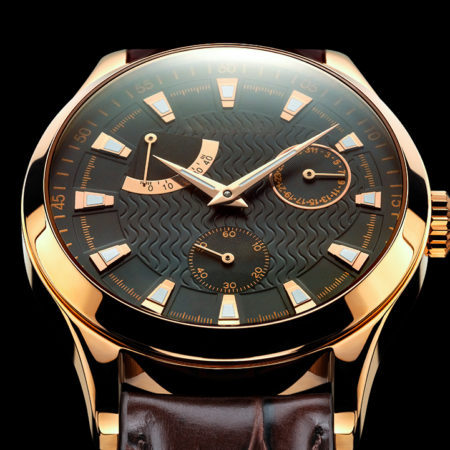 metal watches gold